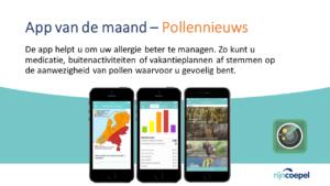 4 App van de maand – Pollennieuws