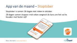 App van de Maand - stoptober2