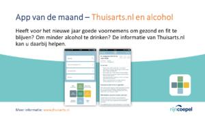 App van de Maand - thuisarts en alcohol2
